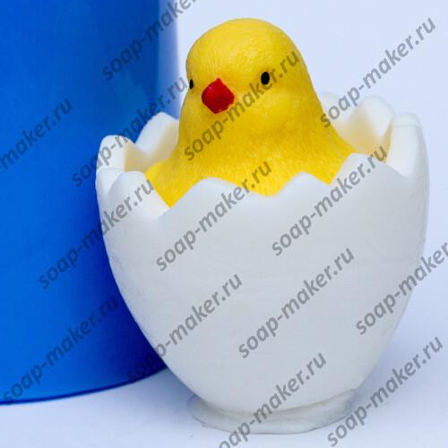 Цыпленок в яйце 3D