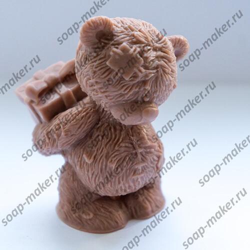 Тедди с подарком 3D