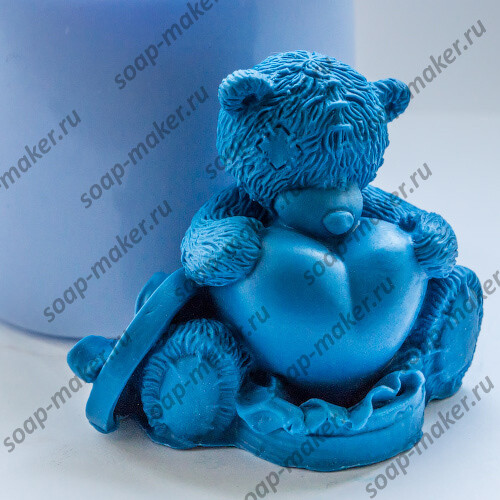 Тедди с сердцем 2 3D