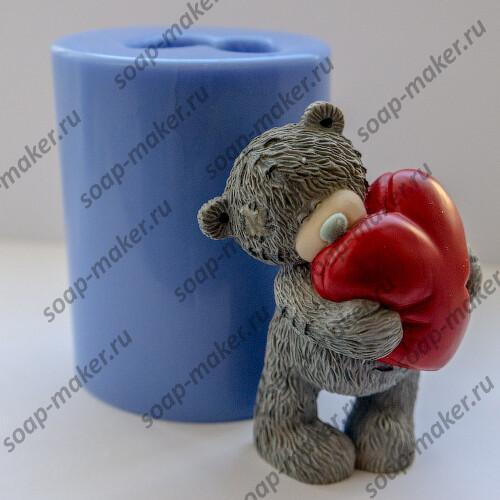 Тедди с сердцем 3D