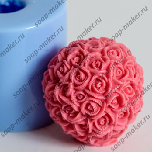 Шар из роз