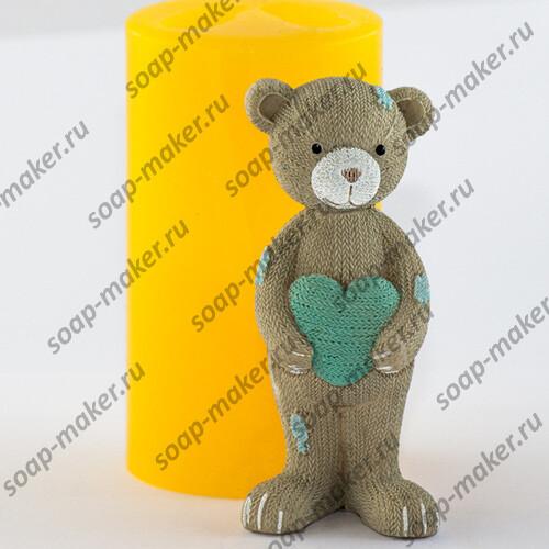 Вяз. мишка с сердцем