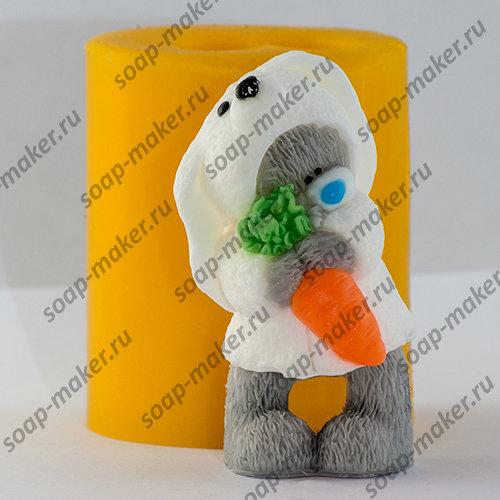 Тедди с морковкой 3D