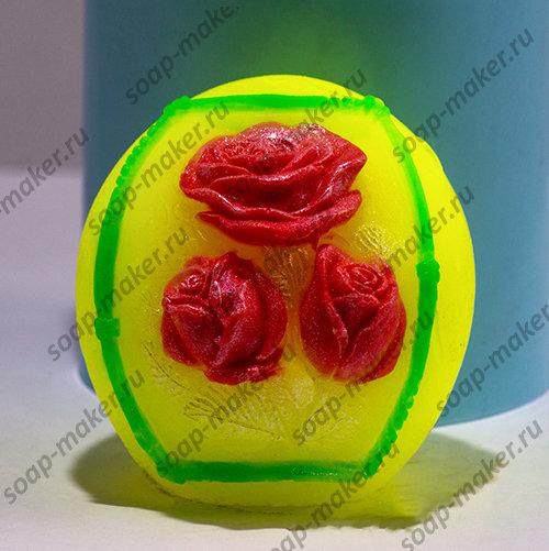 Шар с розами 3D