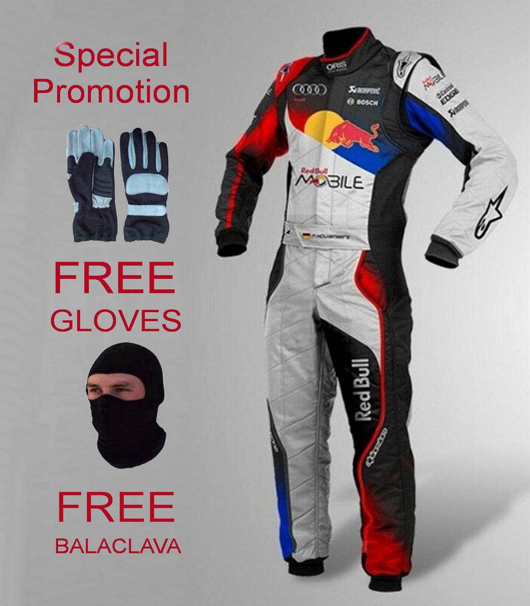 Kart Race suit CIK//FIA level 2 free balaclava and gloves
