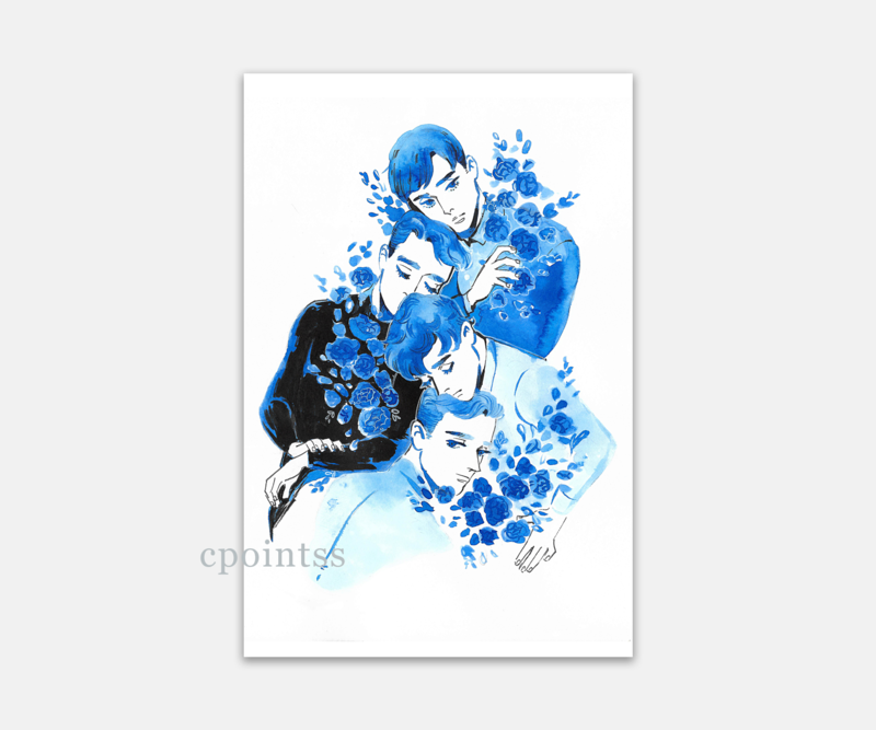 [6 x 4 inch print] Comforting