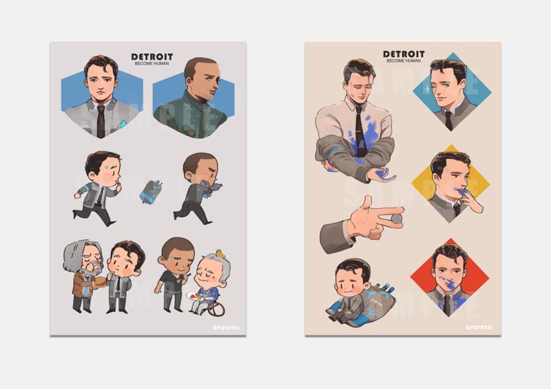 DBH Stickers