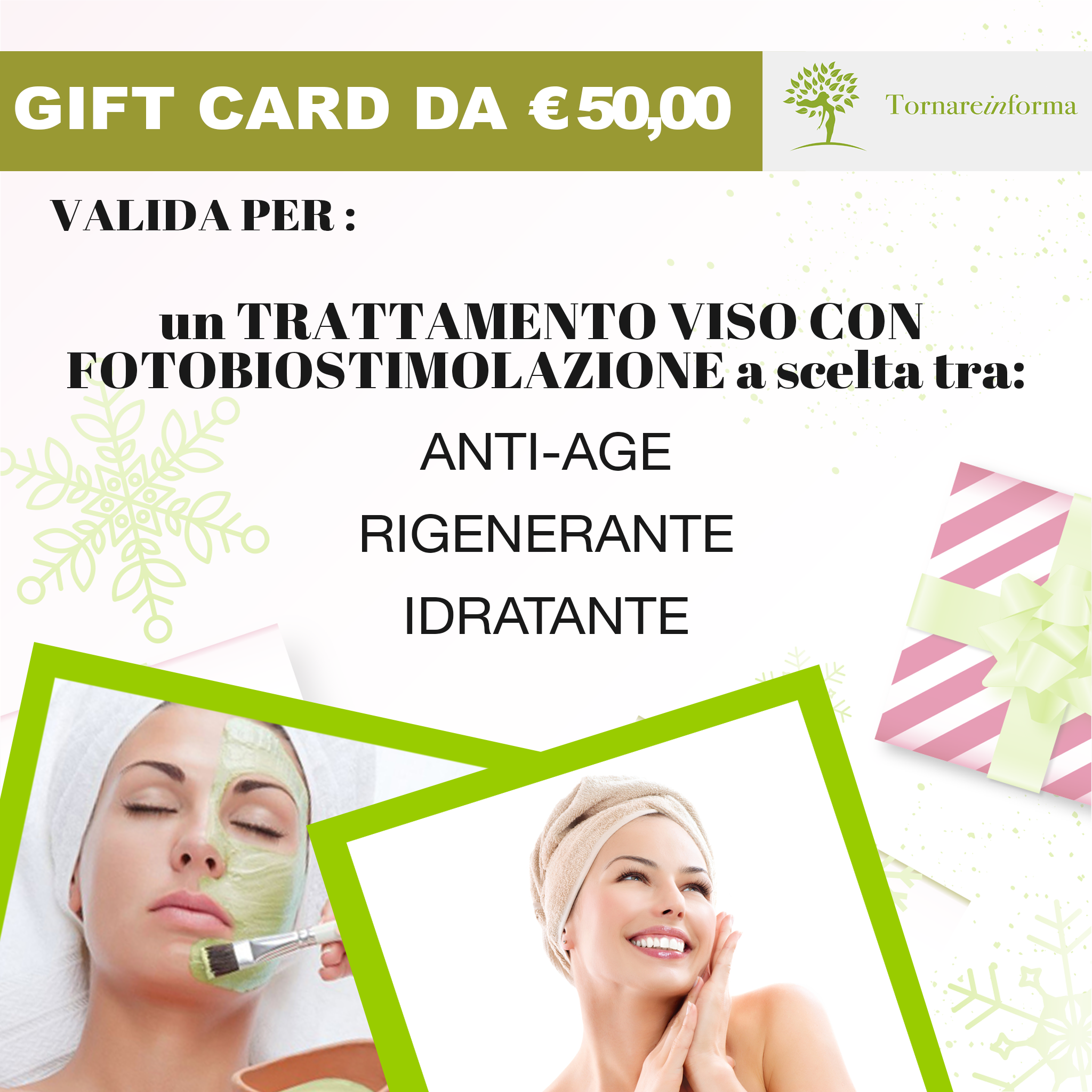 GIFT CARD TORNAREINFORMA 50€ 00001