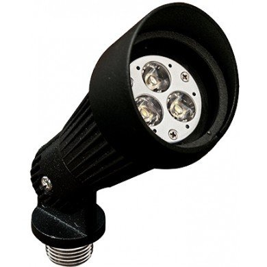 LV203-BK - DIRECTIONAL SPOT LIGHT WITH HOOD