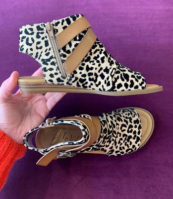 Balla Leopard Open Toe Sandal