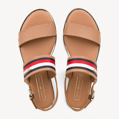 Summer Cognac Strappy Sandal
