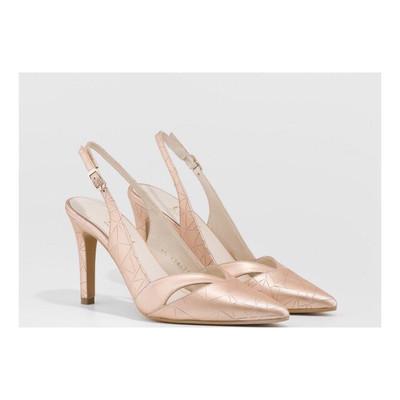 Rainey Nude Slingback Court Shoe