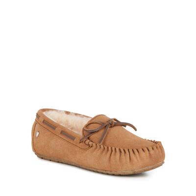 Amity Chestnut Slipper