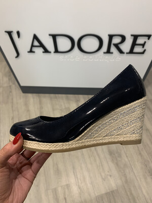 Navy Patent Wedge