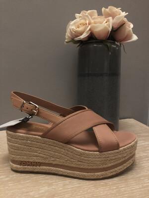 Silky Nude Tommy  Platform Sandal