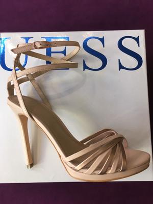 Tonya Nude Sandal Ankle Strap