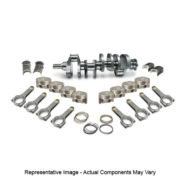 SBC 383 4340 FORGED ROTATING ASSEMBLY, H BEAM RODS,ARP UPGRADED 2000  BOLTS,3 750 STROKER FORGED CRANK,DOME PISTONS,MOLY RINGS,SRP,JE,MAHLE,PBM