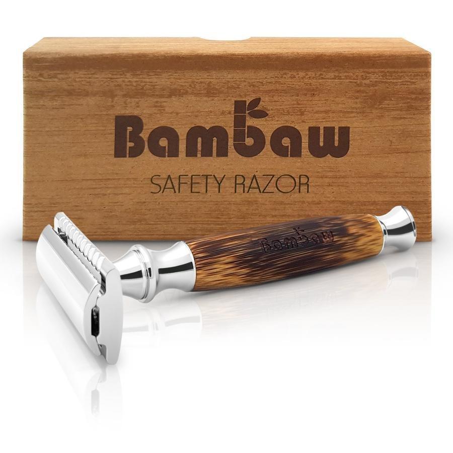 Eleganter Rasierer aus Bambus für Sie und Ihn für ein nachhaltigeres Leben