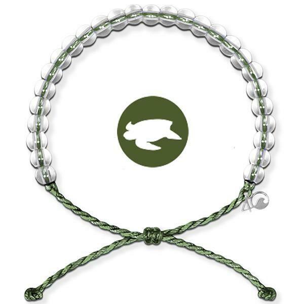 4Ocean Leatherback Sea Turtle Bracelet - Schütze die Lederschildkröten