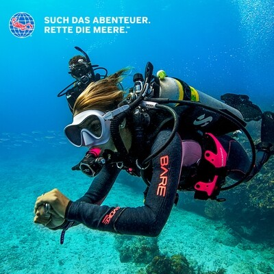 PADI Open Water Diver Online-Theorie
