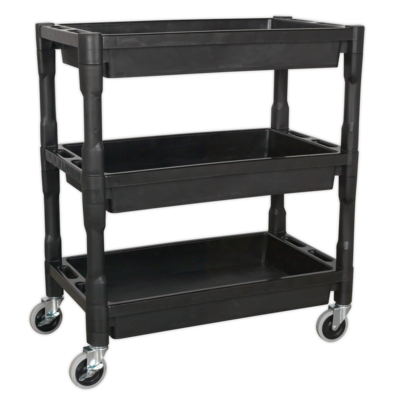 SEALEY TROLLEY 3 LEVEL HEAVY DUTY COMPOSITE