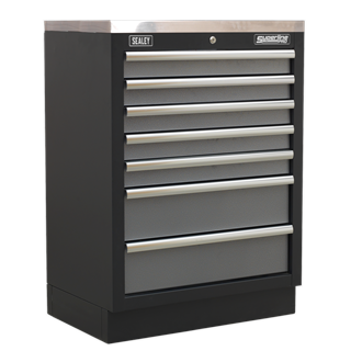 Modular 7 Drawer Cabinet 680mm