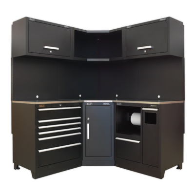SEALEY MODULAR CABINET COMBO STAINLESS STEEL APMSCOMBO6SS