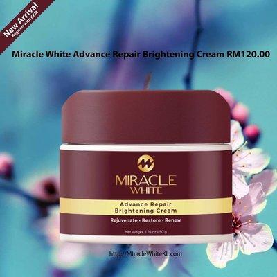 Miracle White Advance Repair Brightening Cream