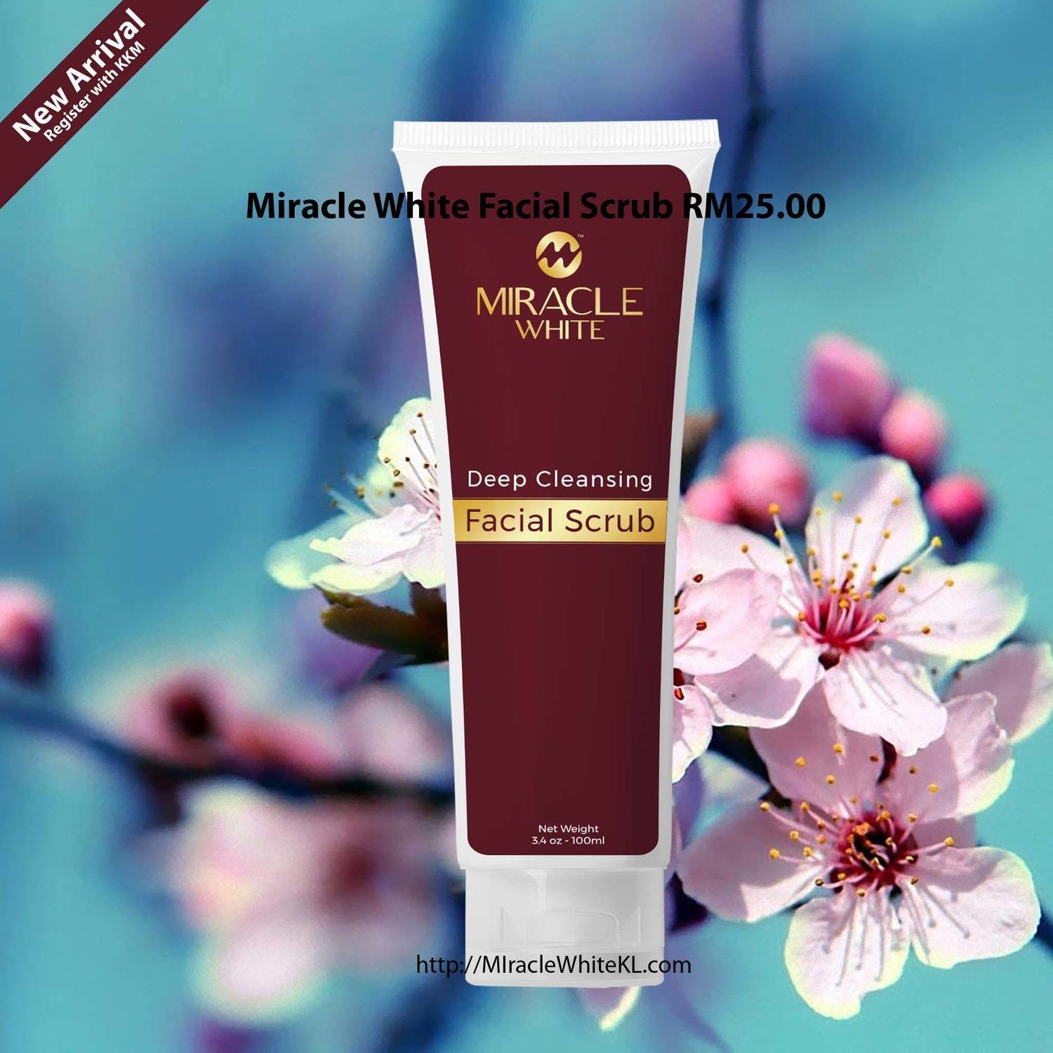 Miracle White Facial Scrub