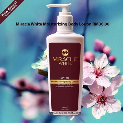 Miracle White Moisturizing Body Lotion
