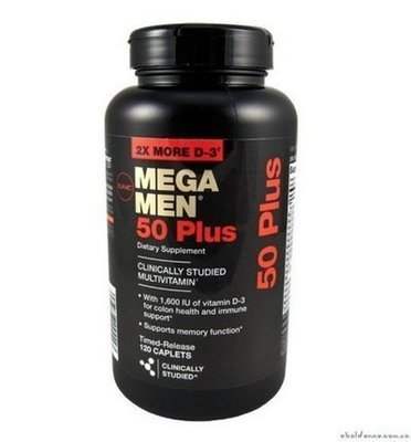 Mega Men 50 Plus,120 кап.