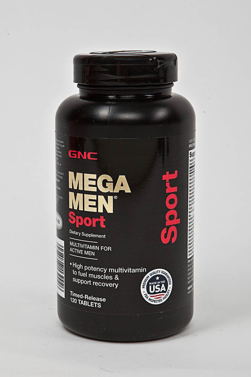 GNC Mega Men Sport (120 капсул) 570564