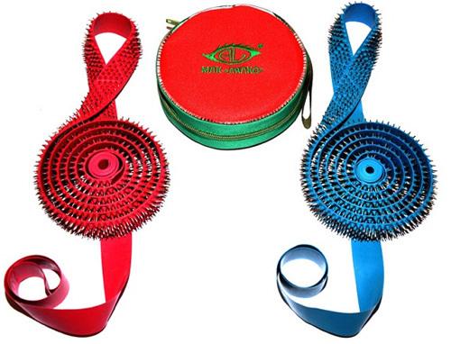 """Belt """"Magic Ribbon Health"""" - 3 segmental single strip + single strip"""