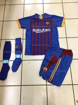 Uniforme de Futbol Barcelona Local