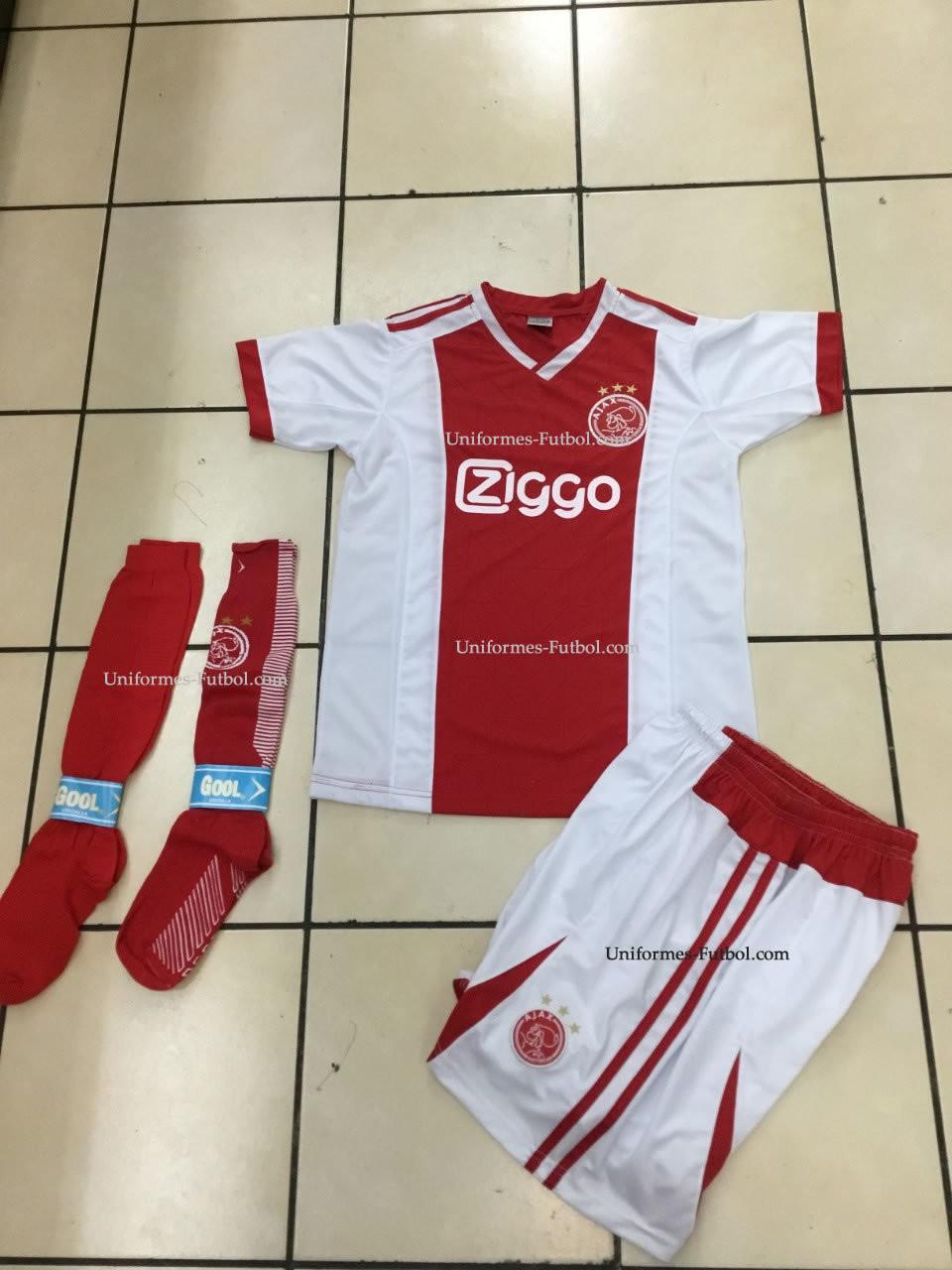 Uniforme de Futbol Local Ajax