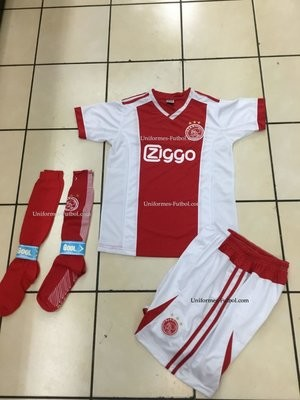 Uniforme de Futbol Local Ajax