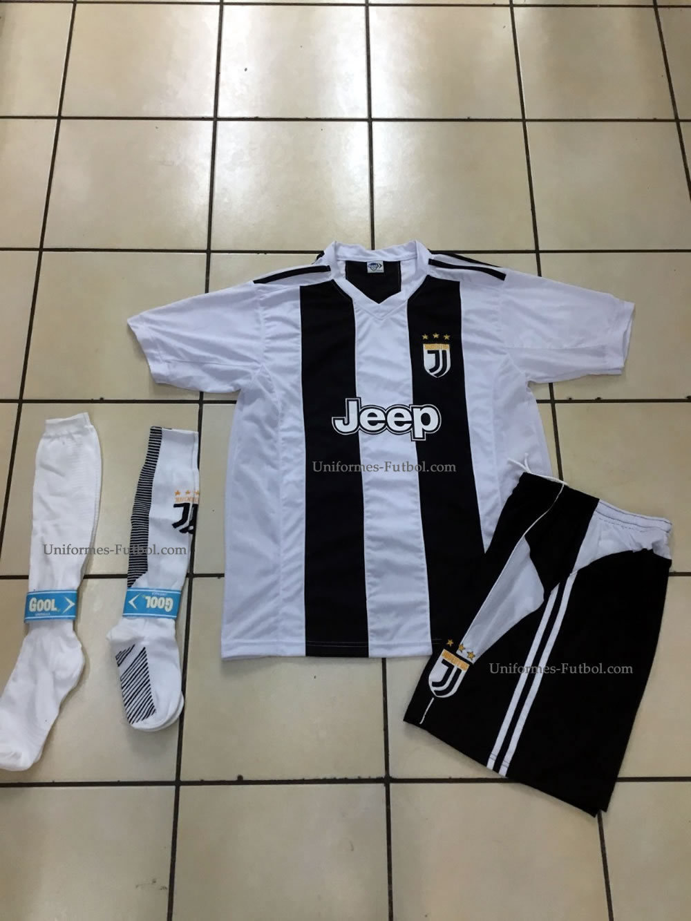 Uniforme de Futbol Completo Local  Equipo Juventus