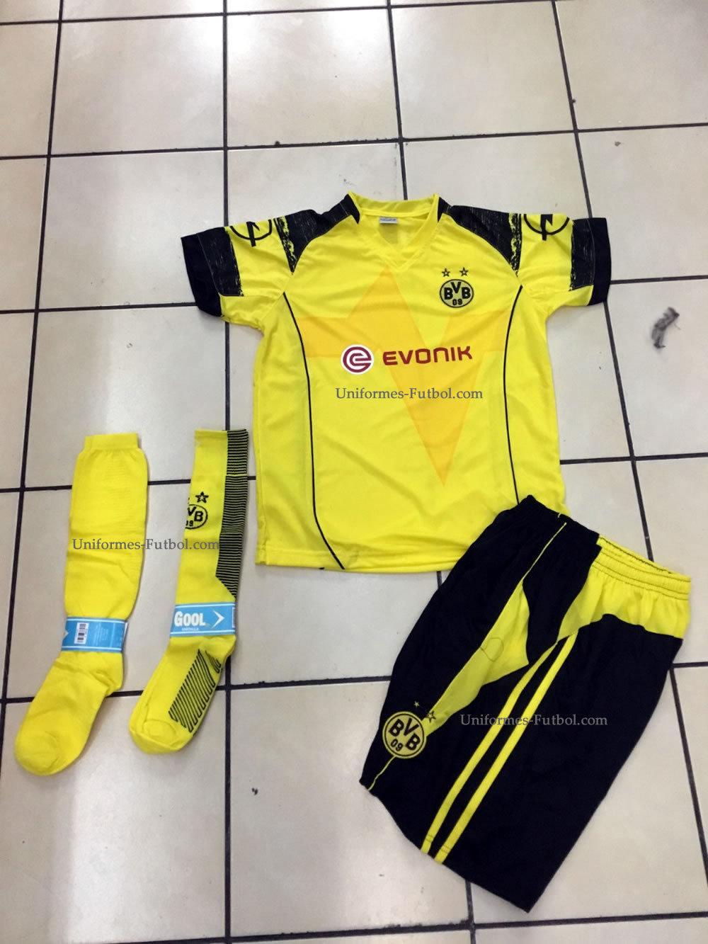 Uniforme de Futbol Completo de Local Borussia Dortmund