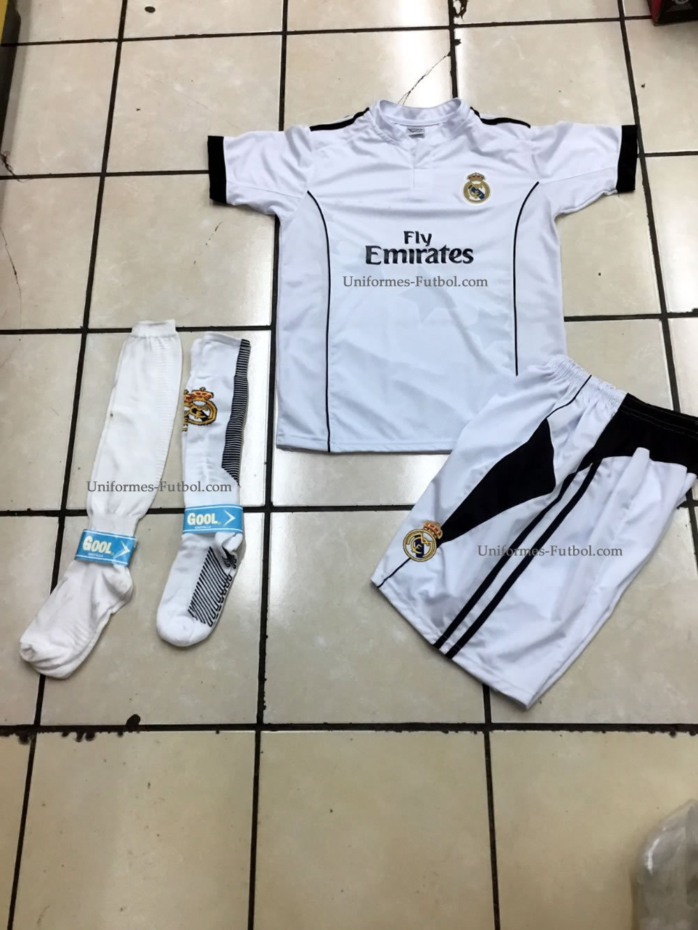 Uniforme de Futbol Completo de Local Real Madrid