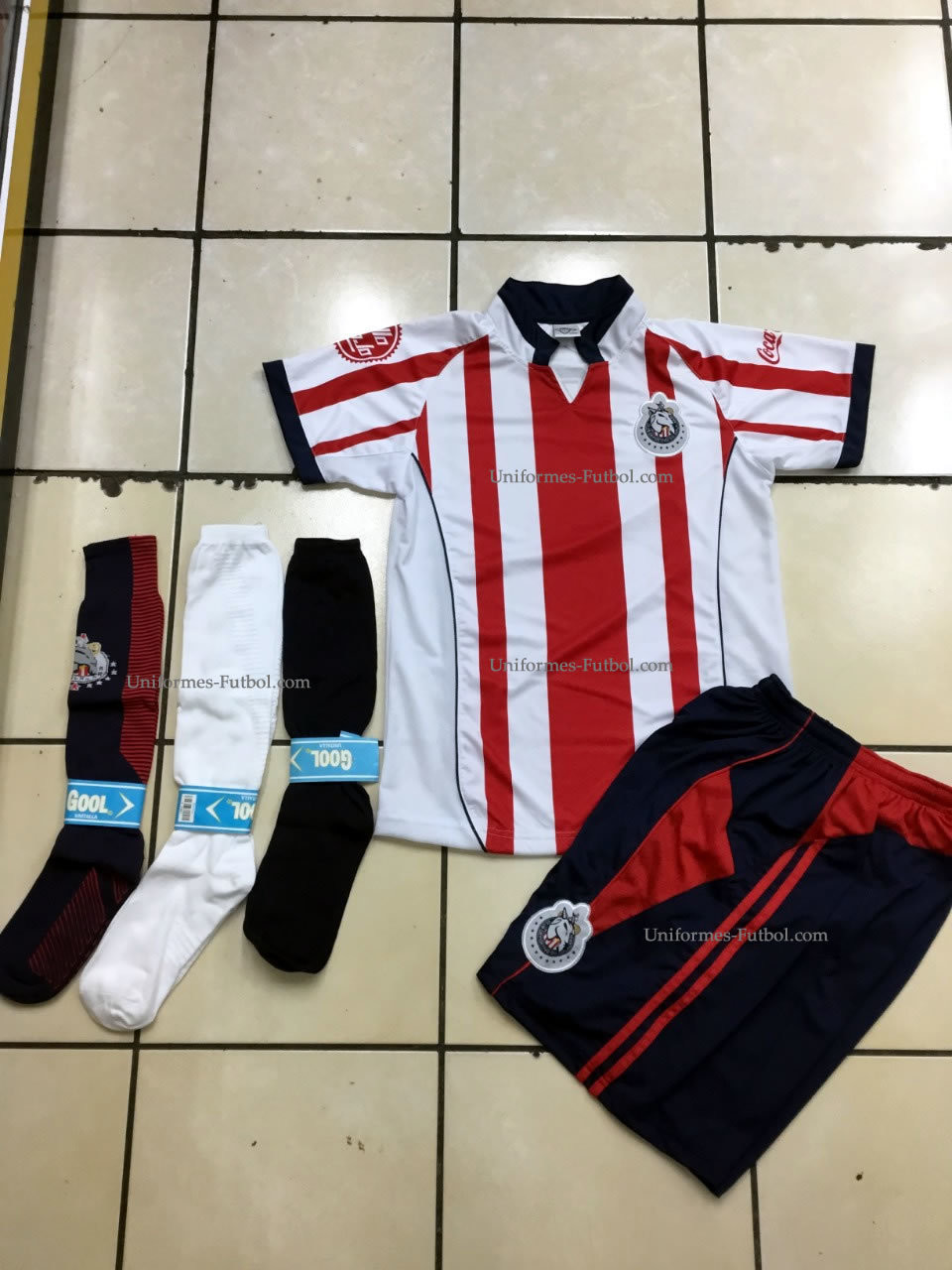 Uniforme de Futbol  Local Chivas