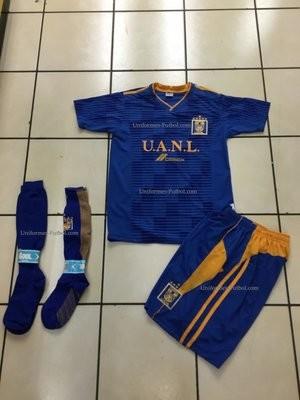 Uniforme de Futbol Azul Tigres