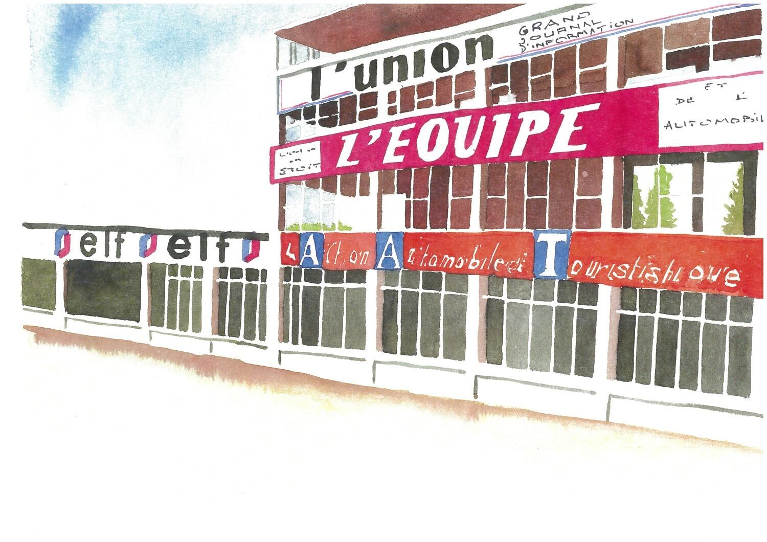 Le circuit de Reims-Gueux-Paddock
