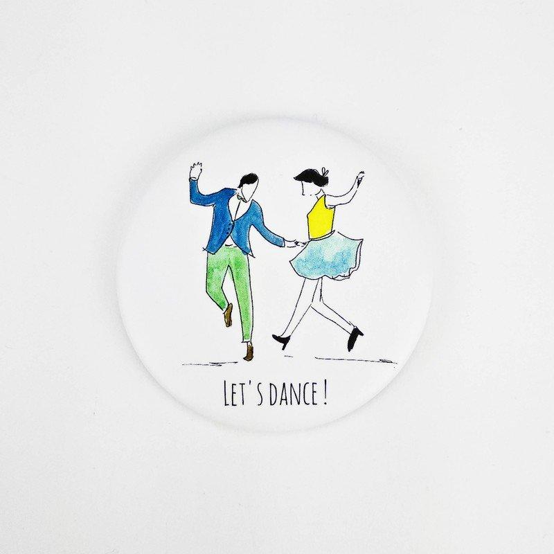 Magnet décapsuleur : Let's dance