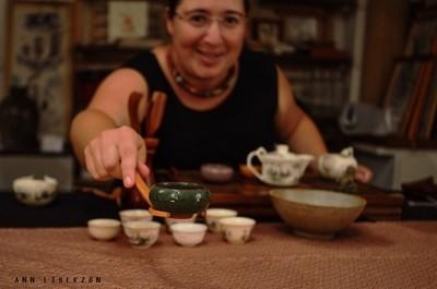 טקס תה סיני נייד