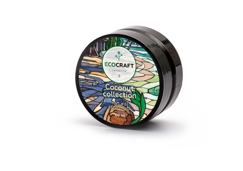 """Маска для лица увлажняющая и питательная """"Coconut collection"""" Кокосовая коллекция ECOCRAFT Cosmetics"""