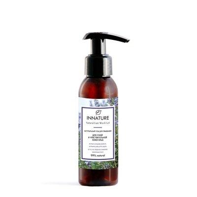 Натуральный гель для умывания  для сухой и чувствительной кожи INNATURE