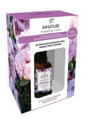 Натуральный крем для лица для нормальной и комбинированной кожи  INNATURE