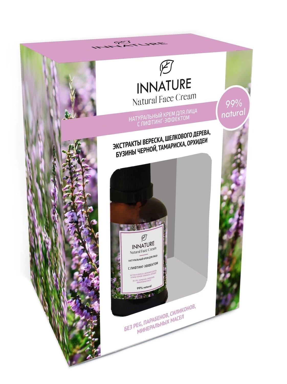 Натуральный крем для лица с лифтинг-эффектом  INNATURE