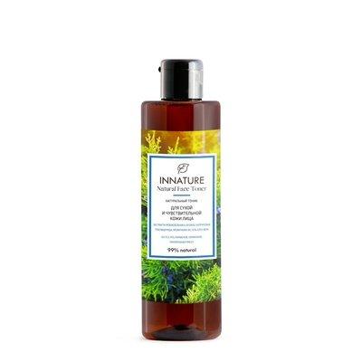 Натуральный тоник для сухой и чувствительной кожи INNATURE