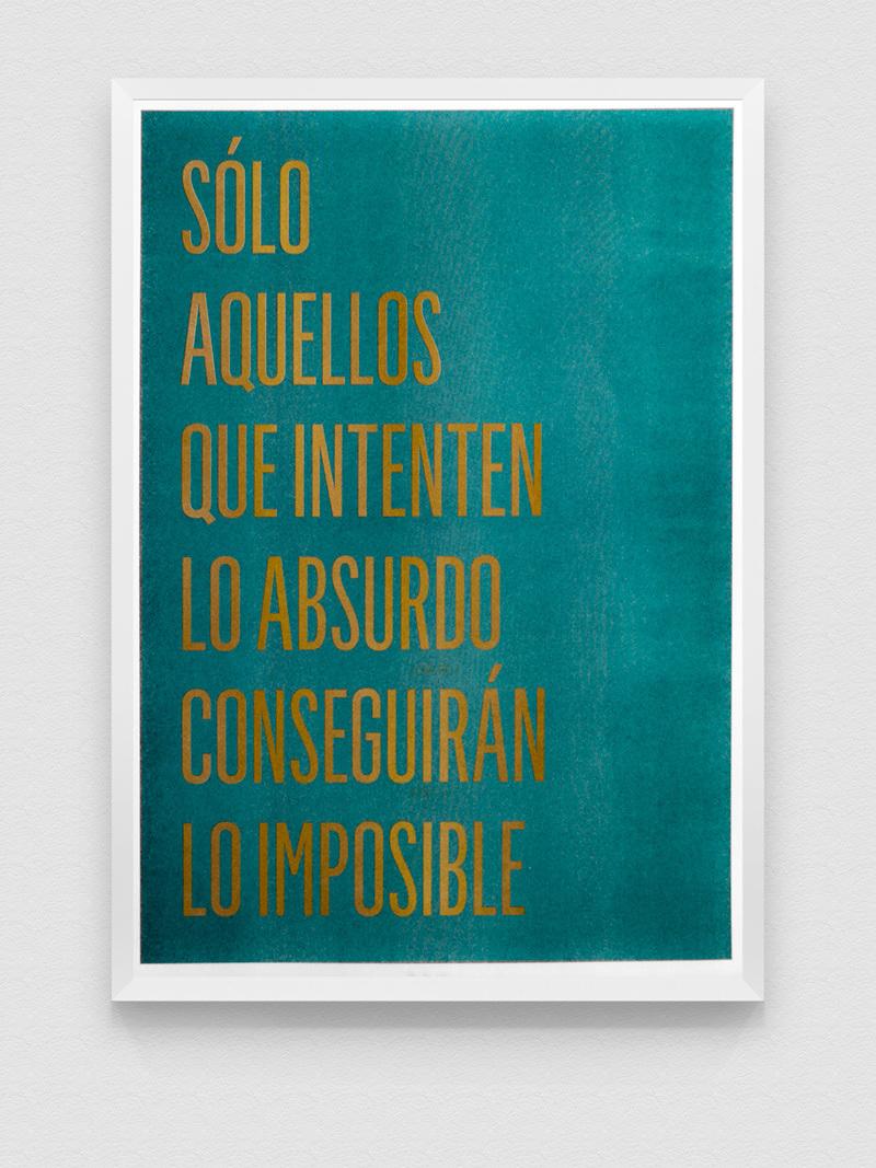 "Poster Risografía ""SoloAquellos"" 18-04"